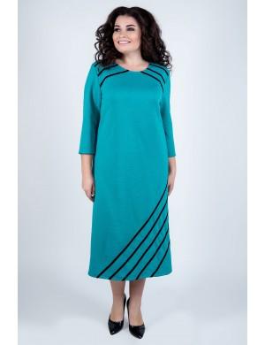 Платье Камелия (бирюза)