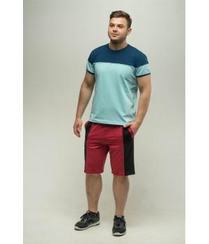 Мужские шорты Морган (бордовый)