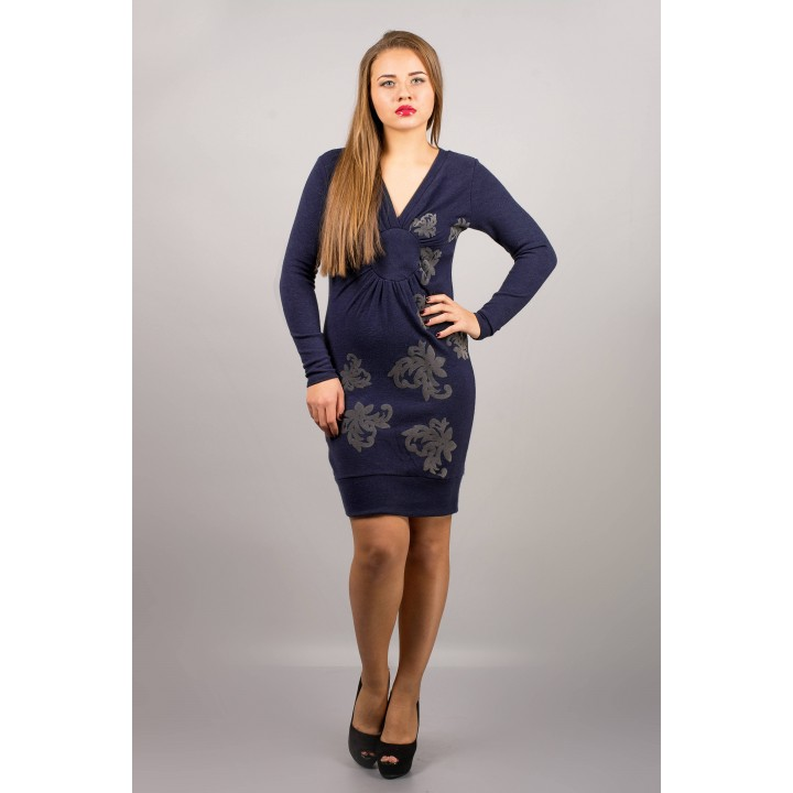 Платье Патриция (синий) ОПТОВАЯ ЦЕНА
