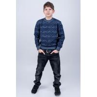 Детский свитер Джокер (синий)