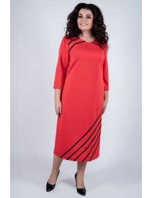 Платье Камелия (коралл)