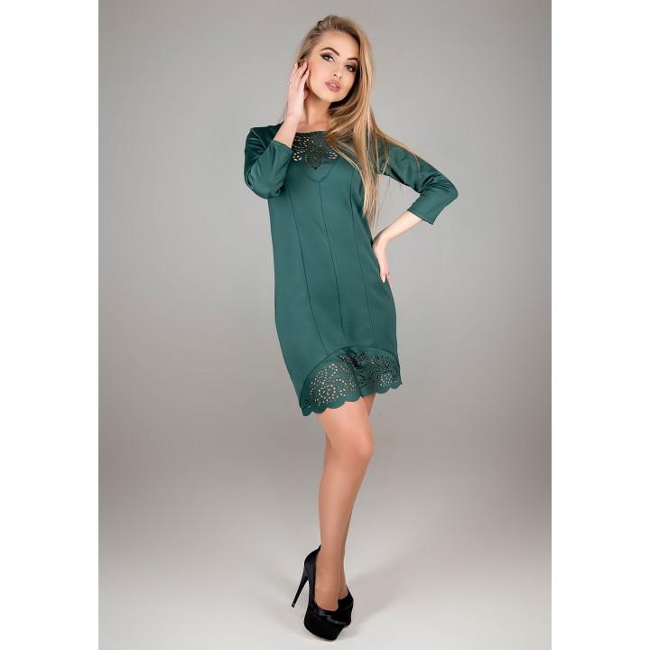 Платье Форина (зеленый)