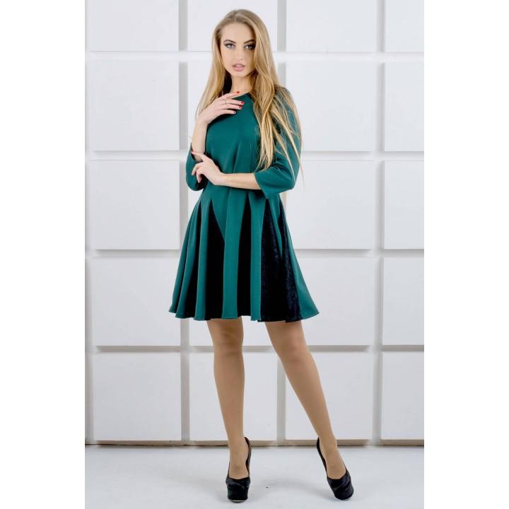 Платье Хэлли (зеленый) Оптовая цена
