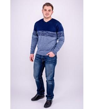Мужской свитер Гена (бирюза)