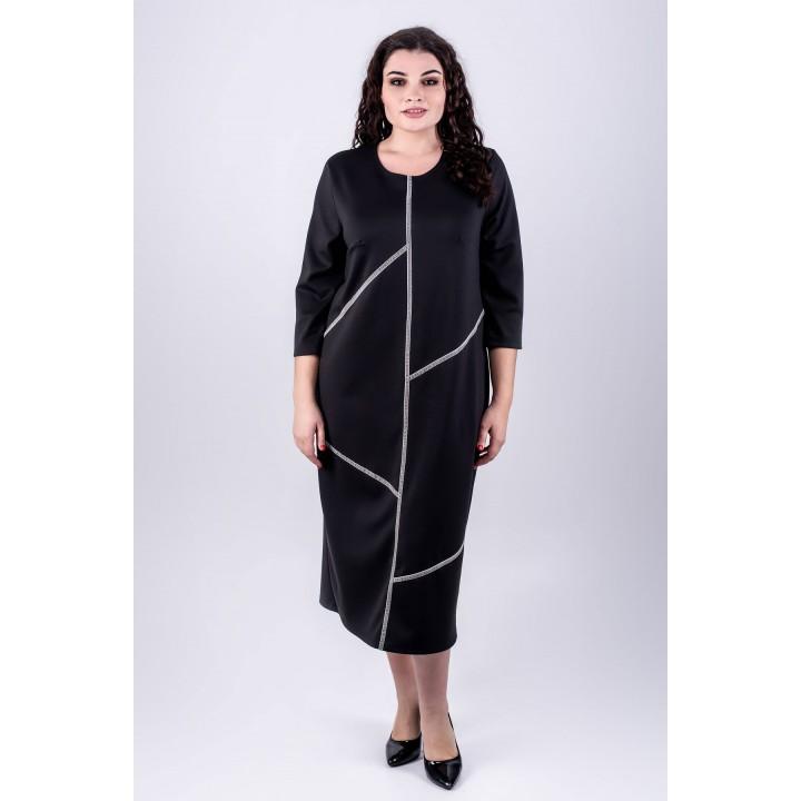 Платье Мери (черный)