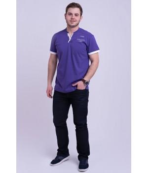 Мужская футболка Систен (лиловый)