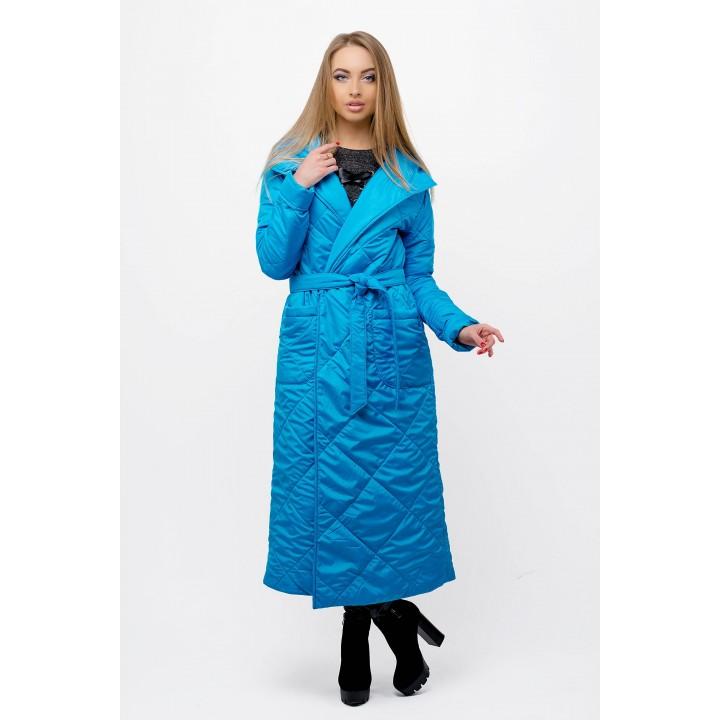 Весенний плащ Сопрано (голубой) Оптовая цена
