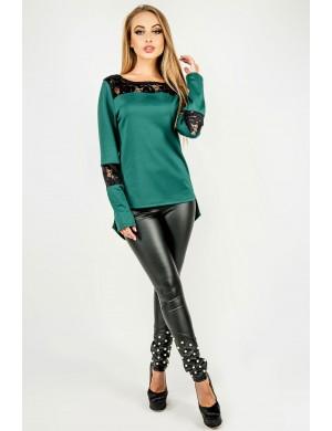 Женская туника Лаки (зеленый)