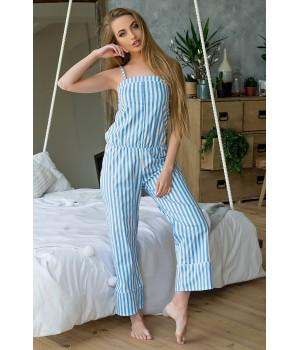 Пижама Эвелина (голубой)