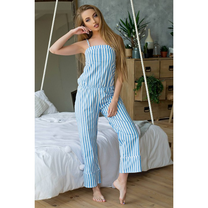 Пижама Эвелина (голубой) оптовая цена