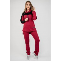 Спортивный костюм Джейла (бордовый)