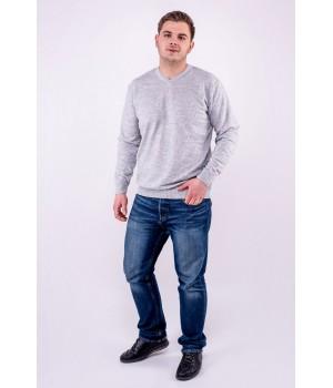Мужской свитер Гриша (серый)
