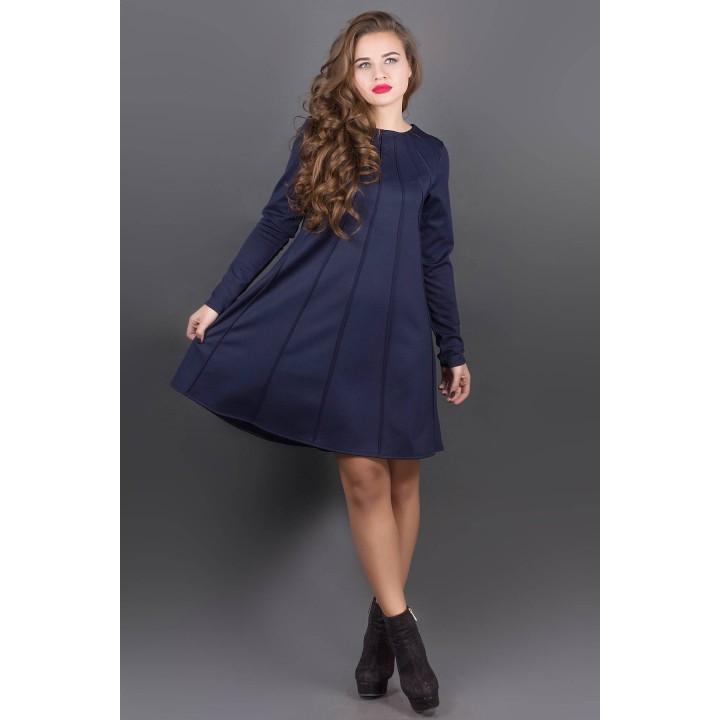 Платье Ситти (синий) Оптовая цена