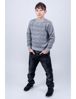 Детский свитер Джокер (серый)