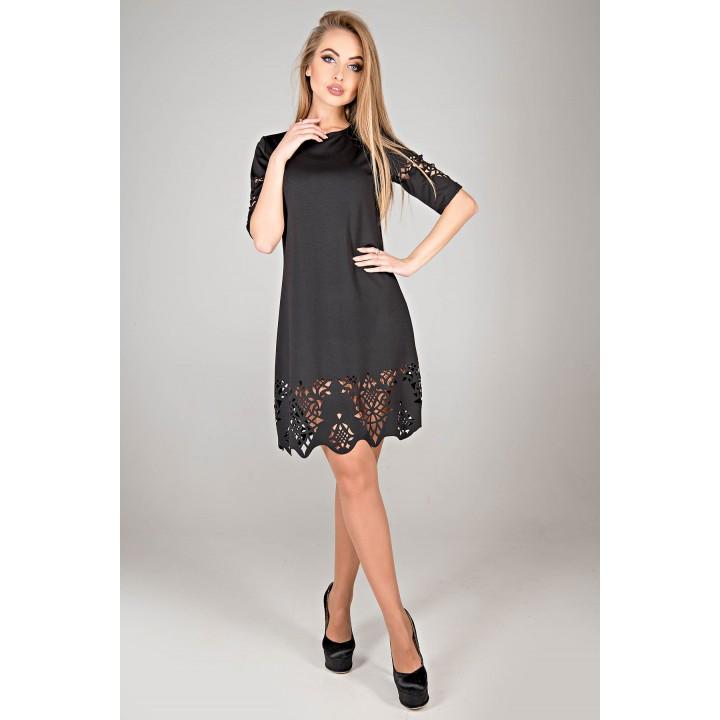 Платье Фисента (черный)