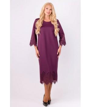 Платье Кайла (бордовый)