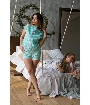 Пижама Трейси (бирюза)