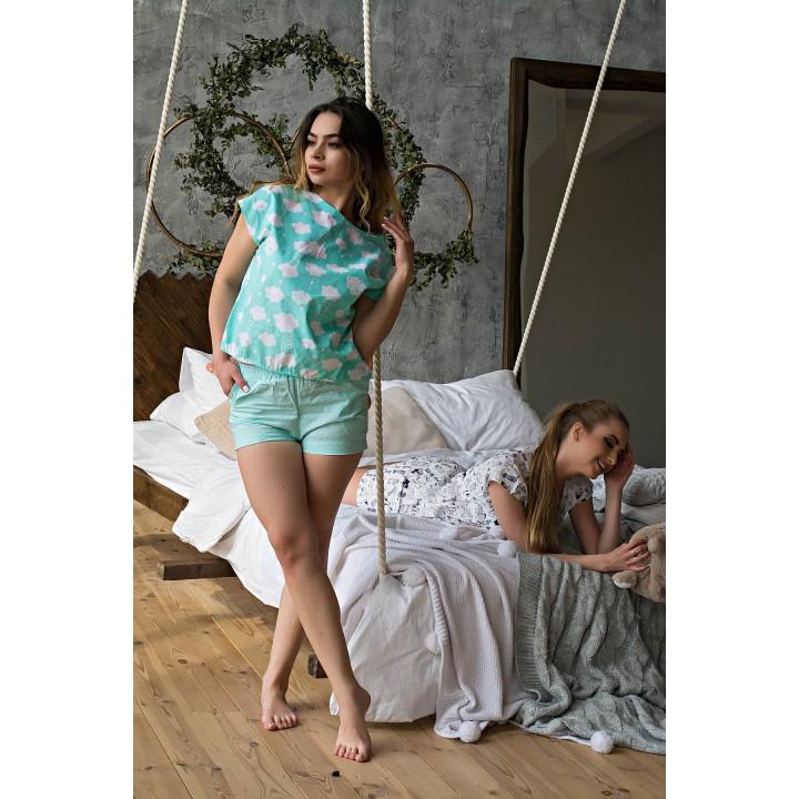Пижама Трейси (бирюза) оптовая цена