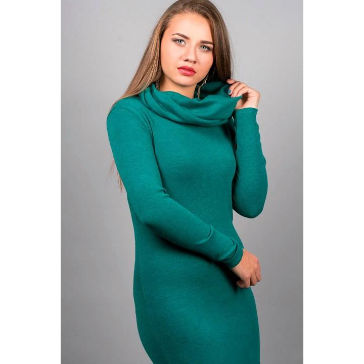Платье Долорес (морская волна)  оптовая цена