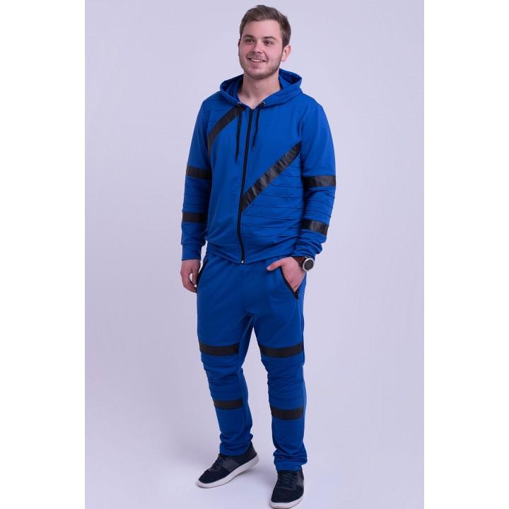 Мужской спортивный костюм Конти (электрик)