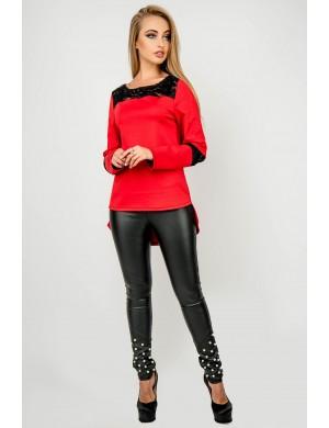 Женская туника Лаки (красный)