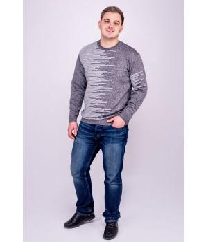 Мужской свитер Виктор (серый)