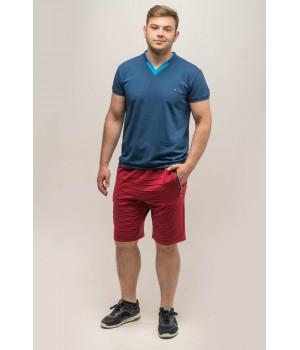 Мужские шорты Энджи (бордовый)