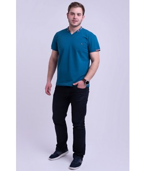 Мужская футболка Грэй (синий)