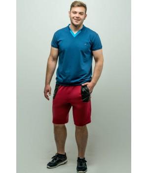 Мужские шорты Блэк (бордовый)