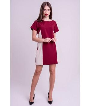 Платье Эвелина (бордовый)