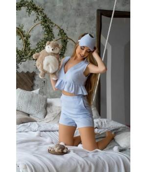 Пижама Меган (голубой)