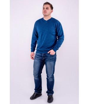 Мужской свитер Гриша (бирюза)