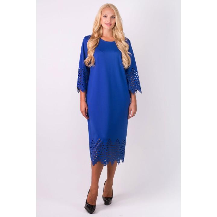 Платье Кайла (электрик) Оптовая цена