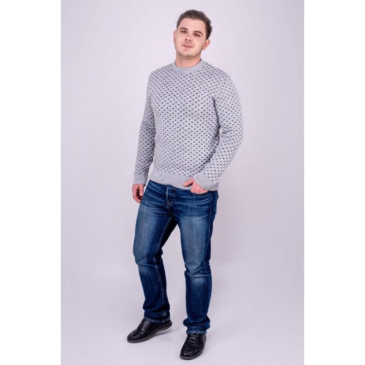 Мужской свитер Гамлет (серый)