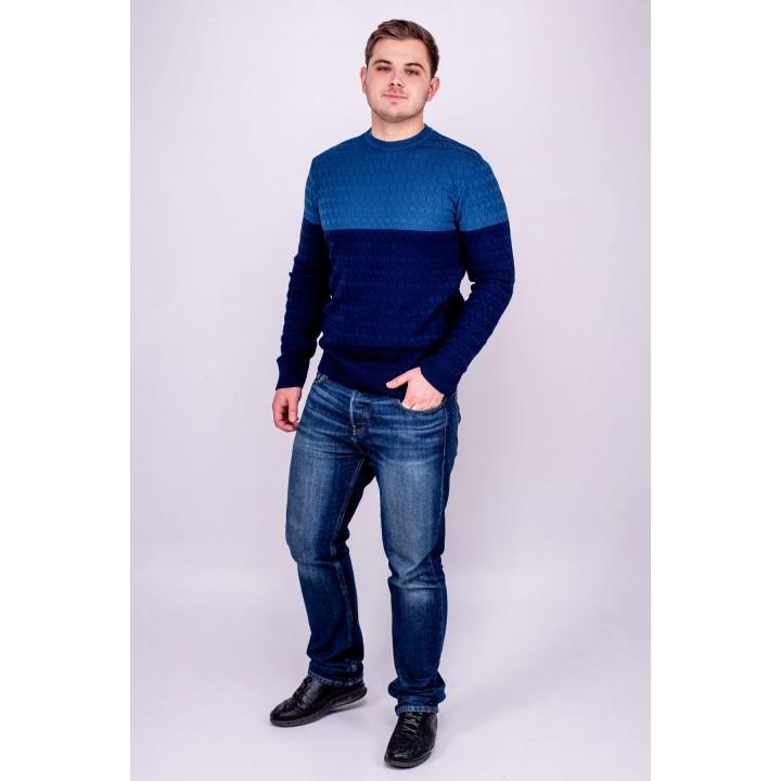 Мужской свитер Михаил (синий)