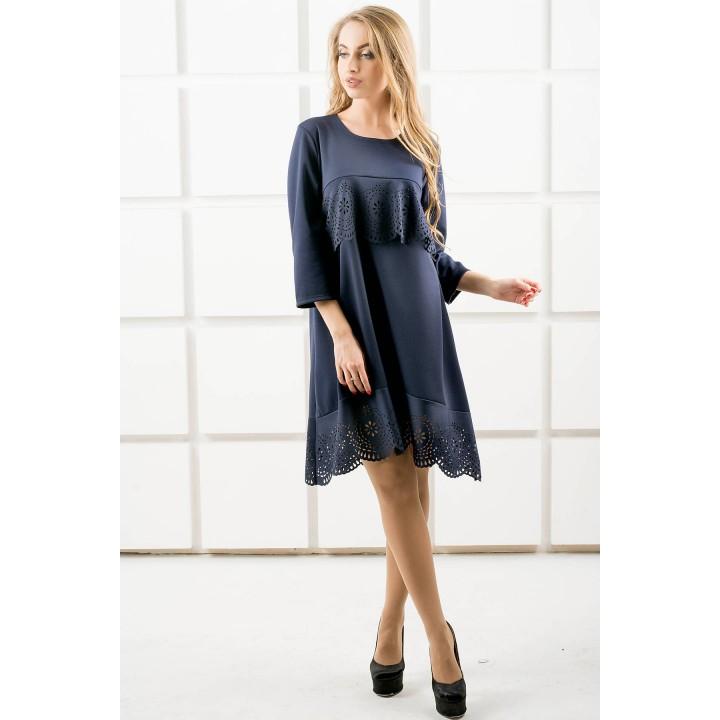 Платье Наир (синий)