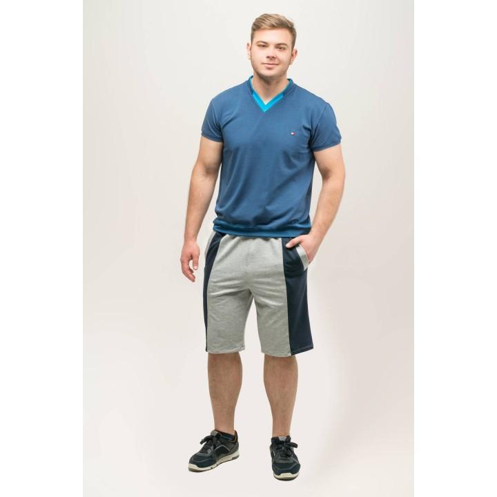 Мужские шорты Морган (серый) Оптовая Цена