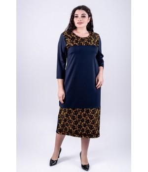 Платье Латика (синий)