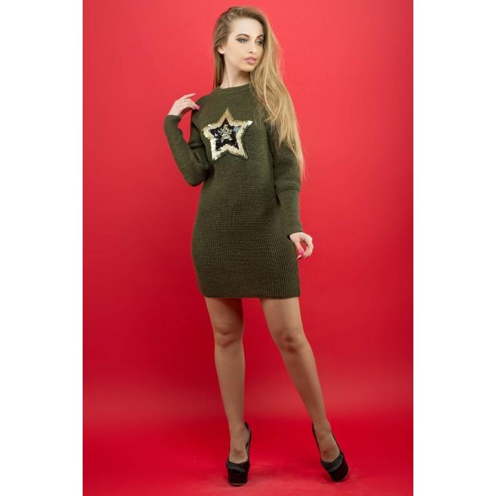 Платье Люси (хаки) Оптовая цена