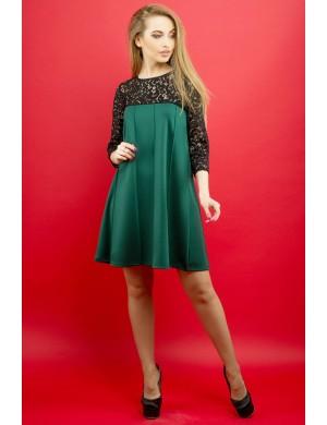 Платье Эмма (зеленый)