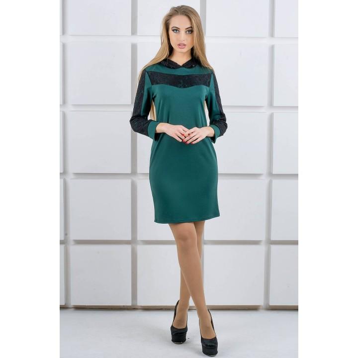 Платье Камита (зеленый) Оптовая цена
