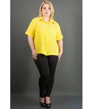 Рубашка Ника (желтый)