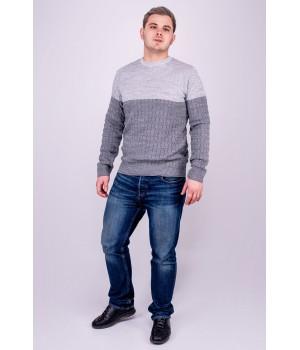 Мужской свитер Михаил (серый)
