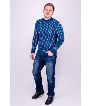 Мужской свитер Гамлет (синий)