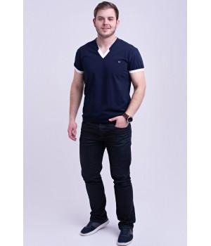 Мужская футболка Томи (синий)