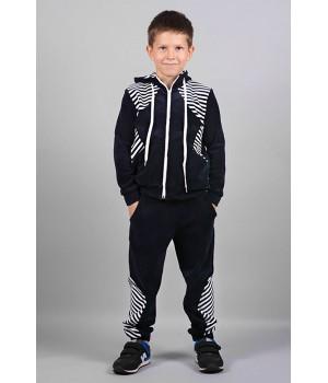 Спортивный костюм Мантана (черный)