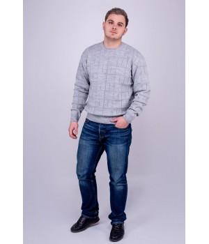 Мужской свитер Максим (серый)