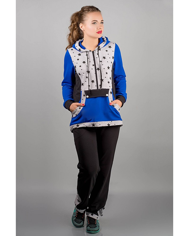 Спортивный костюм Магнолия (электрик звезды)