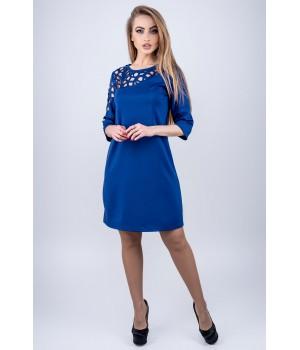 Платье Луиза (электрик)