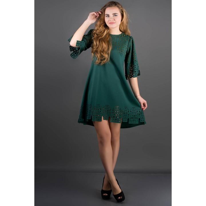 Платье Айви (зеленый)